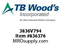 TBWOODS 3836V794 3836V794 VAR SP BELT