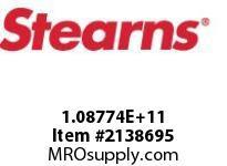 STEARNS 108774201015 BRK-HTR 115VSTNL PINION 8010809
