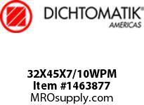 Dichtomatik 32X45X7/10WPM WIPER