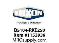 """DIXON B5104-RKE250 2.5"""" B5104 EPDM Repair Kit"""