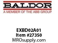 BALDOR EXBD02A01 ENCODER INPUT (5V) EXPANSION BOARD