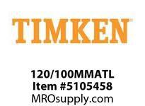 TIMKEN 120/100MMATL Split CRB Housed Unit Component