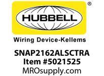 HBL_WDK SNAP2162ALSCTRA SNAPCONNECT DECO 20A/125V SC TR AL