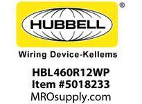 HBL_WDK HBL460R12WP IECRECP 3P4W 60A 125/250V4X/IP69KPIN
