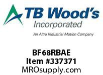 TBWOODS BF68RBAE BF68 EXT HUB RB CL A