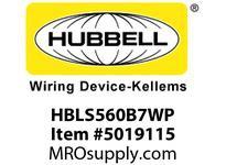 HBL_WDK HBLS560B7WP IECINLT4P5W60A 277/480V4X/IP69PILOT