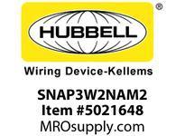 HBL_WDK SNAP3W2NAM2 SNAPCONNECT 6^ 3W SW STR WIRE W/PUSH-I