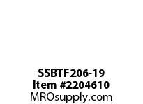 PTI SSBTF206-19 THERMOPLASTIC 4-BOLT FLANGE BRG-1-3