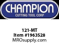 Champion 121-MT 1/16-3/8 BY 64THS ST CASE ONLY