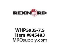 REXNORD WHP5935-7.5 WHP5935-7.5 WHP5935 7.5 INCH WIDE MATTOP CHAIN