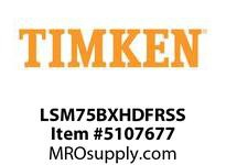 TIMKEN LSM75BXHDFRSS Split CRB Housed Unit Assembly