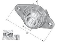 INA PCFT20 Two-bolt flanged unit