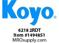 Koyo Bearing 6218 2RDT SINGLE ROW BALL BEARING