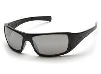 Pyramex SB5670D Black Frame/Silver Mirror Lens