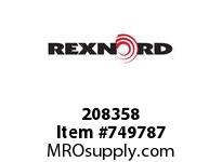REXNORD 208358 591310 201.DBZC.CPLG STR TD
