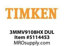 TIMKEN 3MMV9108HX DUL Ball High Speed Super Precision