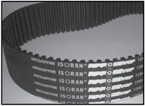 Jason 1080-8MS-50 RPP SILVER TIMING BELT