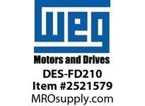 WEG DES-FD210 DRIVE ENDSHIELD FARM DUTY 213/ Integrals