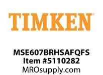 TIMKEN MSE607BRHSAFQFS Split CRB Housed Unit Assembly