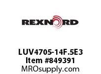 REXNORD LUV4705-14F.5E3 LUV4705-14 F.5 T3P N1 LUV4705 14 INCH WIDE MATTOP CHAIN W