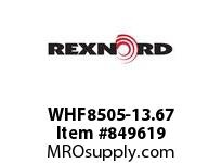 REXNORD WHF8505-13.67 WHF8505-13.67 WHF8505 13.67 INCH WIDE MATTOP CHAI