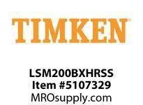 TIMKEN LSM200BXHRSS Split CRB Housed Unit Assembly