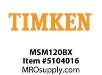 TIMKEN MSM120BX Split CRB Housed Unit Component