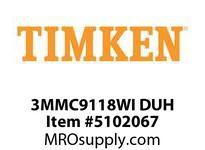 TIMKEN 3MMC9118WI DUH Ball P4S Super Precision