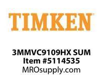 TIMKEN 3MMVC9109HX SUM Ball High Speed Super Precision