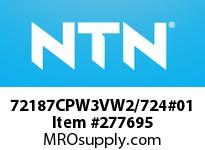 NTN 72187CPW3VW2/724#01 MEDIUM SIZE TAPERED ROLLER BRG