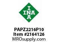 INA PAPZ2216P10 Plain bearing