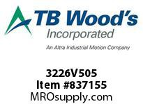 TBWOODS 3226V505 3226V505 VAR SP BELT