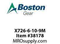 BOSTON 53866 X726-6-10-9M 726 I/P S/A M/S 10:1