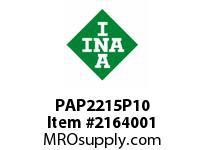 INA PAP2215P10 Plain bearing