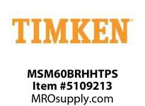 TIMKEN MSM60BRHHTPS Split CRB Housed Unit Assembly