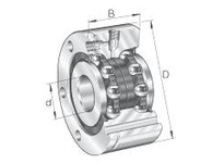 INA ZKLF401152Z Ball screw support bearing