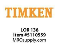 TIMKEN LOR 138 SRB Pillow Block Component