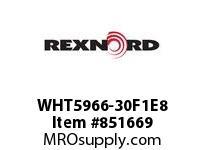 REXNORD WHT5966-30F1E8 WHT5966-30 F1 T8P WHT5966 30 INCH WIDE MATTOP CHAIN W