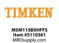 TIMKEN MSM115BXHFFS Split CRB Housed Unit Assembly