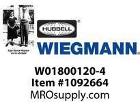 WIEGMANN W01800120-4 FANFILTER4^120V12CFM