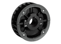 614-31-ENG NS815-25T Thermoplastic Split Sprocket With Guide Rings TEETH: 25 BORE: Rough Stock Bore