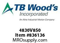 TBWOODS 4830V850 4830V850 VAR SP BELT