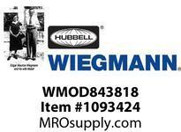 WIEGMANN WMOD843818 N-DISC1DRMODFS84X38.75X18