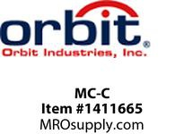 Orbit MC-C METAL CLAD (MC/BX) CABLE CLAMP