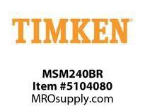 TIMKEN MSM240BR Split CRB Housed Unit Component