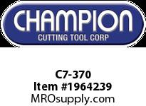 Champion C7-370 CARB TIPPED SQ NOSE TOOL