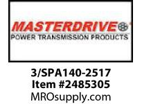 MasterDrive 3/SPA140-2517 3 GROOVE SPA SHEAVE
