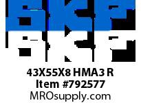 SFKSEAL 43X55X8 HMA3 R