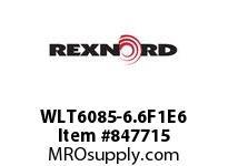REXNORD WLT6085-6.6F1E6 LT6085-6.6 F1 T6P N1 LT6085 6.6 INCH WIDE MATTOP CHAIN W