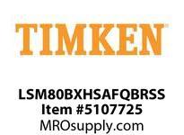 TIMKEN LSM80BXHSAFQBRSS Split CRB Housed Unit Assembly